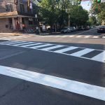 Thermoplastic Line Striping