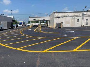 How to Construct an Effective Parking Lot Design, lot striping Bensalem, PA